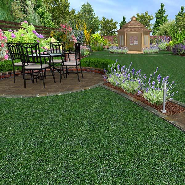 Medium Sized Garden Ideas: Medium Garden Design (100m2 To 320m2)