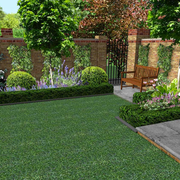 Small Garden Designs: Small Garden Design (15m2 To 100m2)